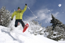Snow shoe-hiking week in the Ulten Valley